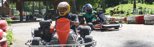 activities puerto galera go karts