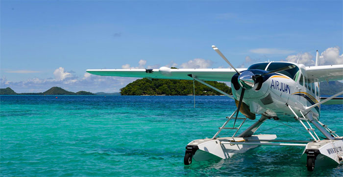 get to puerto galera by seaplane
