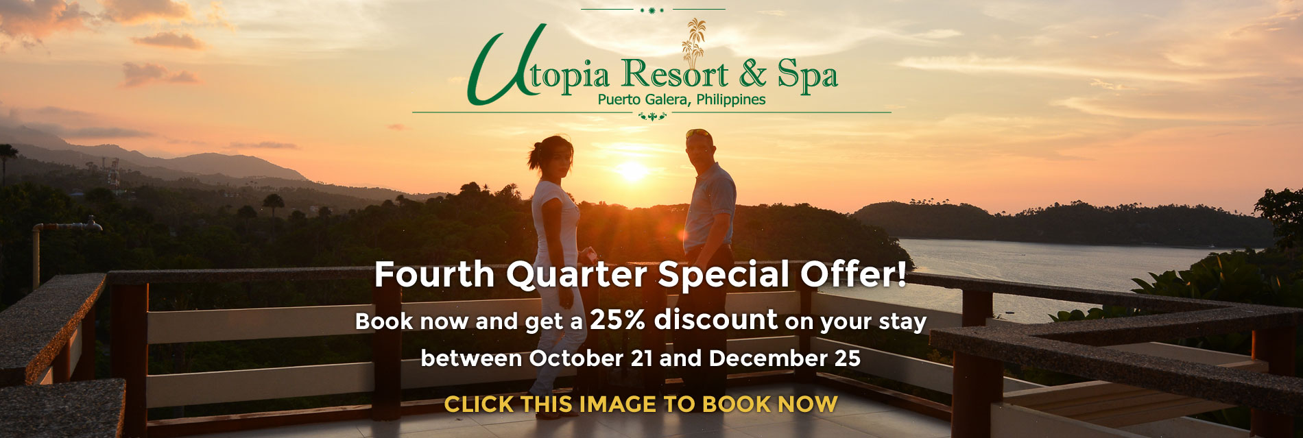utopia resort puerto galera special offer